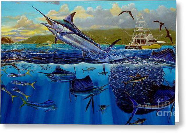 Gamefish Greeting Cards - Los Suenos Greeting Card by Carey Chen