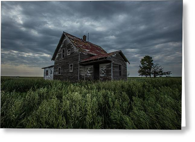 Abandoned House Greeting Cards - Lost Greeting Card by Aaron J Groen