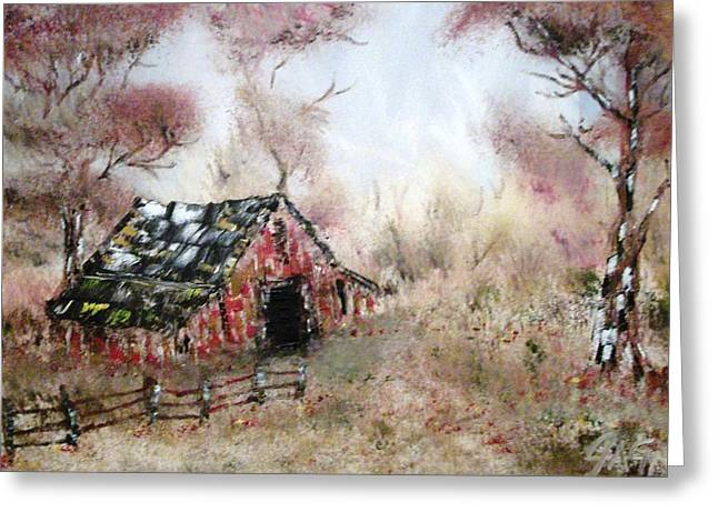 Gypsy Greeting Cards - Lost Barn Greeting Card by The GYPSY And DEBBIE