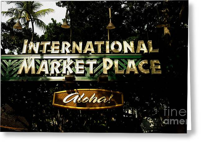Outdoor Market Greeting Cards - Lost Era Greeting Card by Cheryl Young