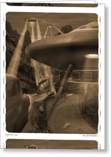 Spacecraft Greeting Cards - Lost Film 35 mm Greeting Card by Mike McGlothlen