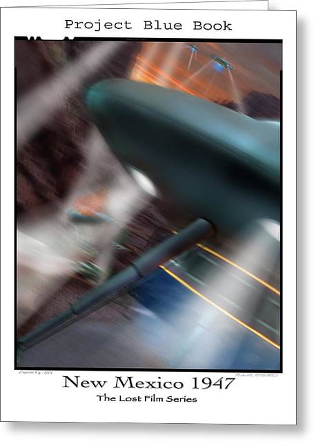 Ufo Greeting Cards - Lost Film Number 6 Greeting Card by Mike McGlothlen