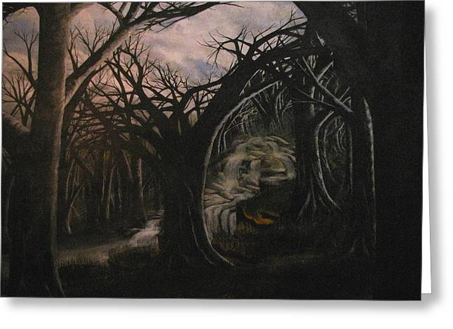 Erik Coryell Greeting Cards - Lost in a dream Greeting Card by Erik Coryell