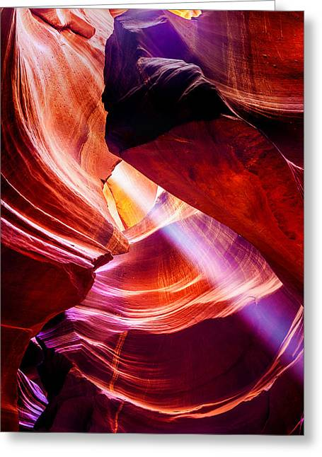 Formations Greeting Cards - Lost  Greeting Card by Az Jackson