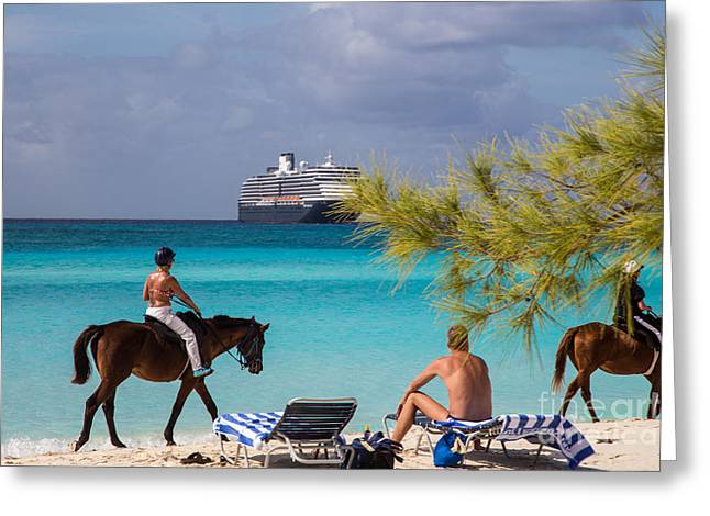 Toy Boat Greeting Cards - Lost in Paradise Greeting Card by Rene Triay Photography
