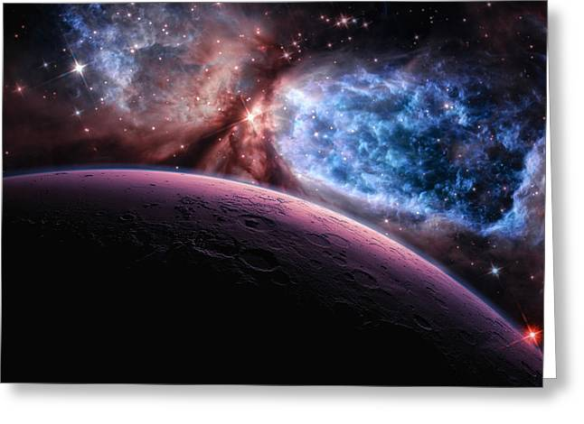 The Planets Greeting Cards - Lost In Space Greeting Card by Bill  Wakeley