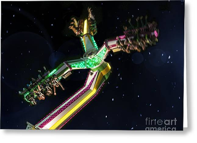Arizona State Fair Greeting Cards - Lost In Space Greeting Card by Van Allen Photography