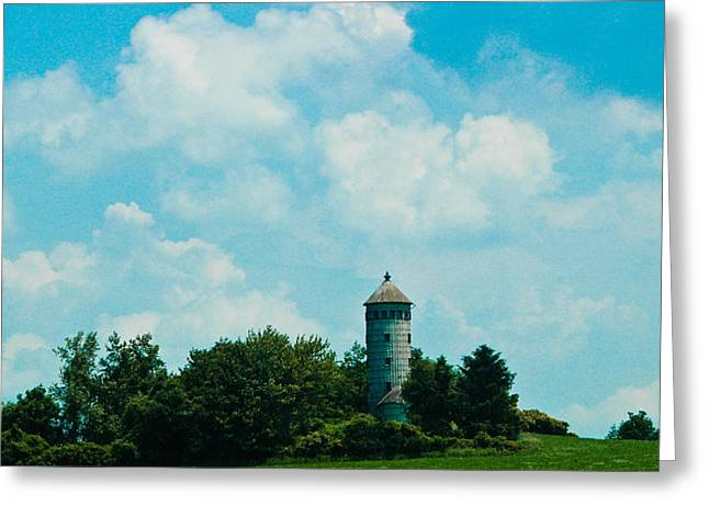 Control Towers Greeting Cards - Lost In Time 2 Greeting Card by Rhonda Barrett