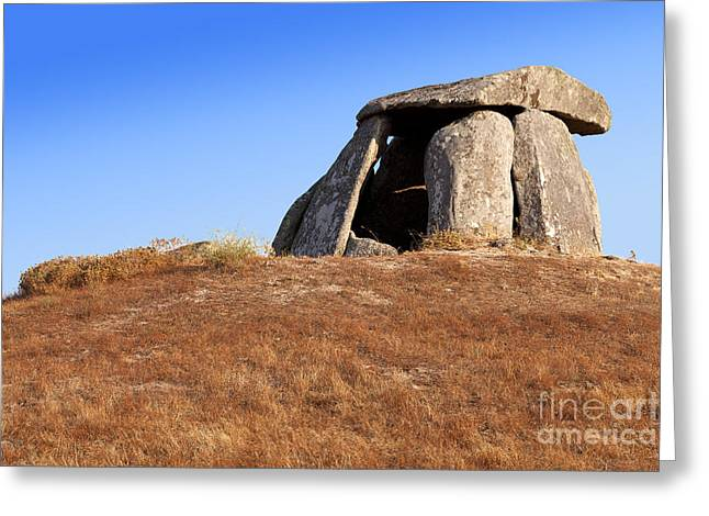Dolmen Greeting Cards - Lost in time Greeting Card by Jose Elias - Sofia Pereira