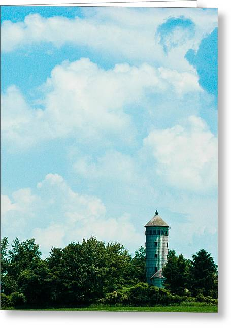 Control Towers Greeting Cards - Lost In Time Greeting Card by Rhonda Barrett