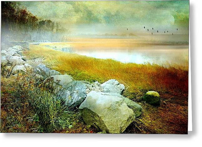 Dreamy Landscape Greeting Cards - Lost In Your Love Greeting Card by Diana Angstadt