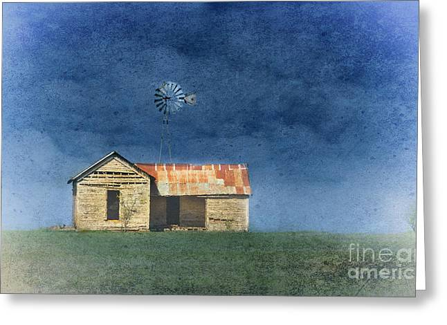 Rusty Tin Roof Greeting Cards - Lost Memories Greeting Card by Betty LaRue