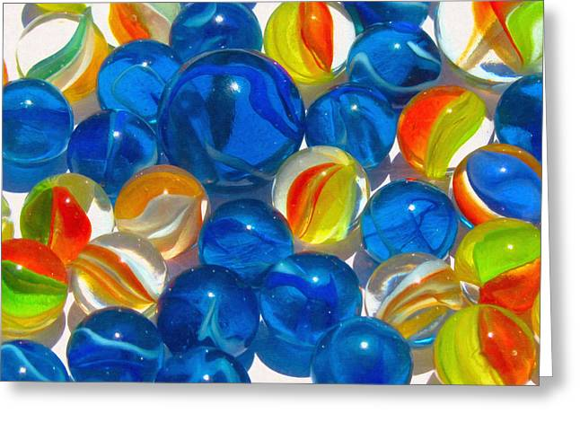Marble Eye Greeting Cards - Lost my Marbles Greeting Card by Dale Jackson