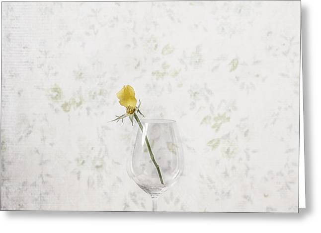 lost petals Greeting Card by Joana Kruse
