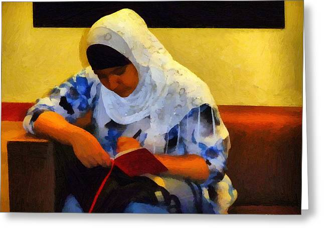 Absorb Digital Art Greeting Cards - Lost to the World Greeting Card by RC DeWinter