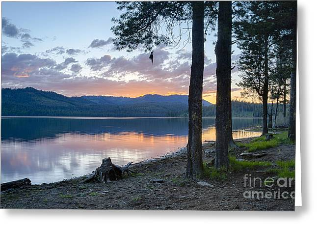 Lost Valley Camp Greeting Card by Idaho Scenic Images Linda Lantzy
