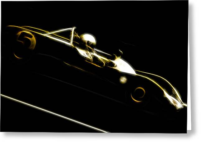 Phil Motography Clark Greeting Cards - Lotus 23B Racer Greeting Card by Phil