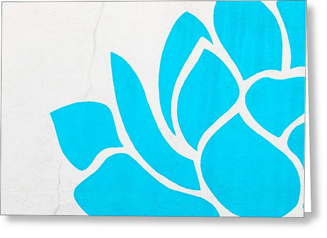 Symbolize Greeting Cards - Lotus Blossom Greeting Card by Art Block Collections