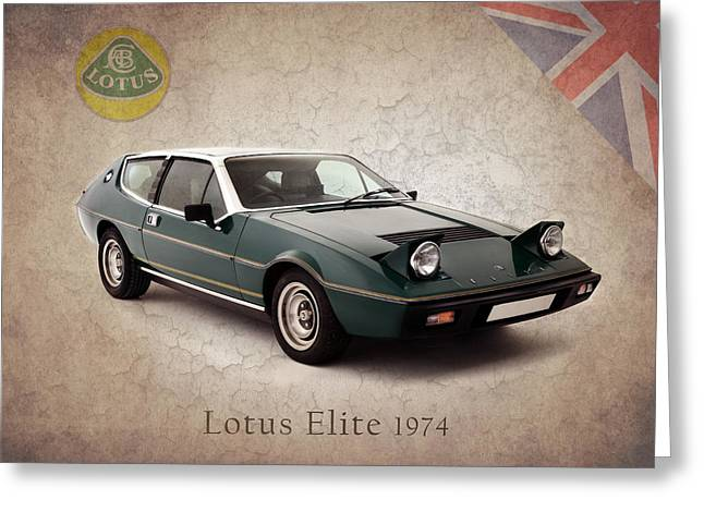 Classic Lotus Greeting Cards - Lotus Elite 1974 Greeting Card by Mark Rogan