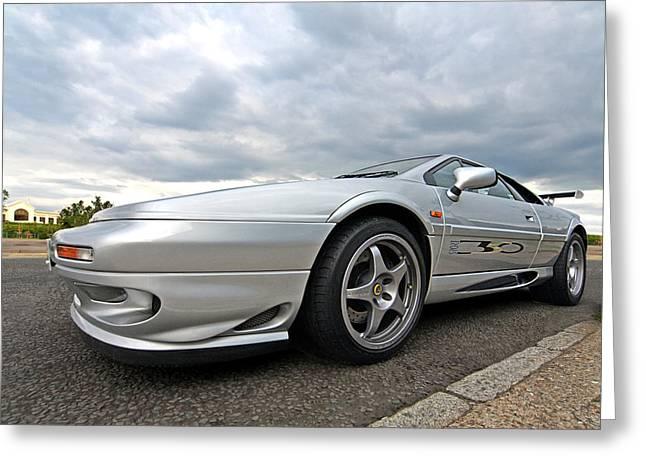 Lotus Sportscar Greeting Cards - Lotus Esprit Sport 350 Greeting Card by Gill Billington