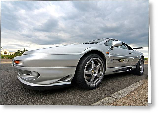 Classic Lotus Greeting Cards - Lotus Esprit Sport 350 Greeting Card by Gill Billington