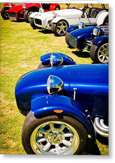 Phil Motography Clark Greeting Cards - Lotus Seven Greeting Card by Phil