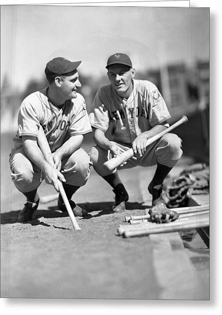 Antique Pictures Greeting Cards - New York Yankees  Greeting Card by Retro Images Archive
