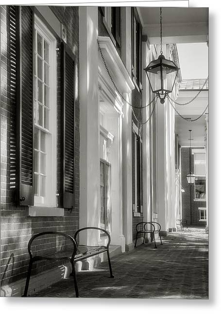 Architecture Metal Prints Greeting Cards - Loudon County Courthouse I Greeting Card by Steven Ainsworth