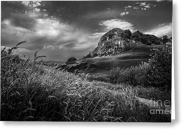 Ayrshire Greeting Cards - Loudoun Hill Greeting Card by John Farnan