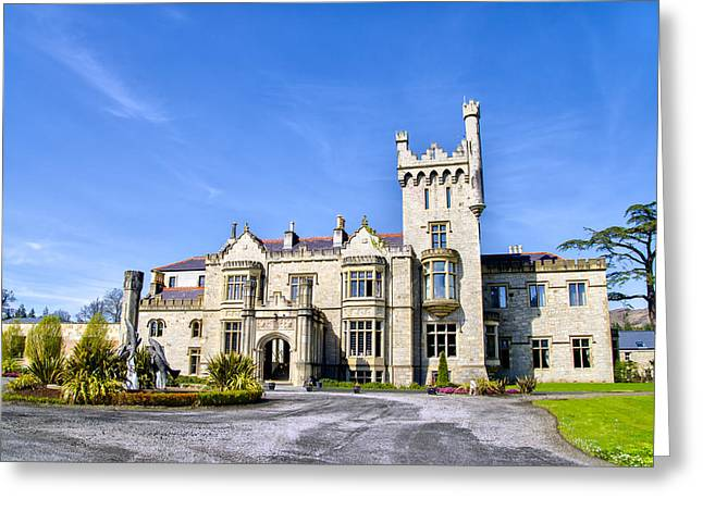 Lough Greeting Cards - Lough Eske Castle - Ireland Greeting Card by Bill Cannon