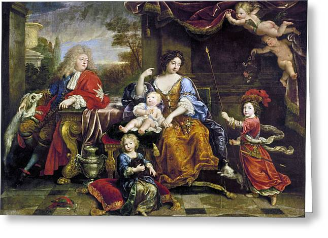 Louis Le Grand Dauphin (1661-1711) Greeting Card by Granger