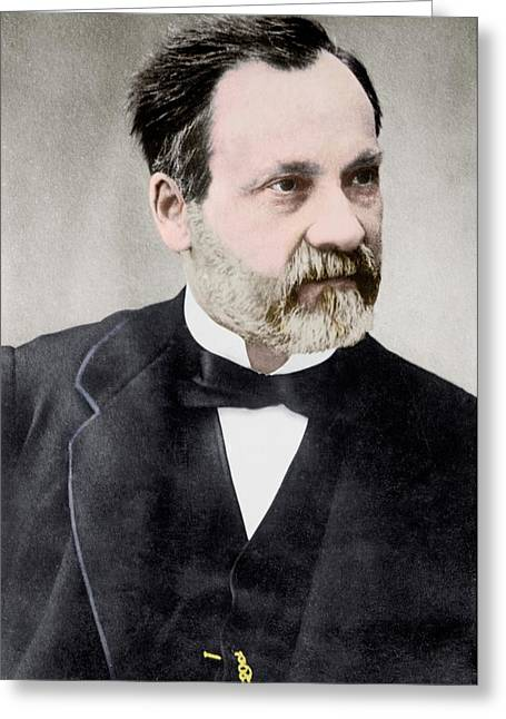 Louis Pasteur Greeting Card by Library Of Congress