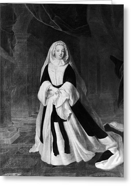 Louise Francoise De Bourbon (1673-1743) Greeting Card by Granger