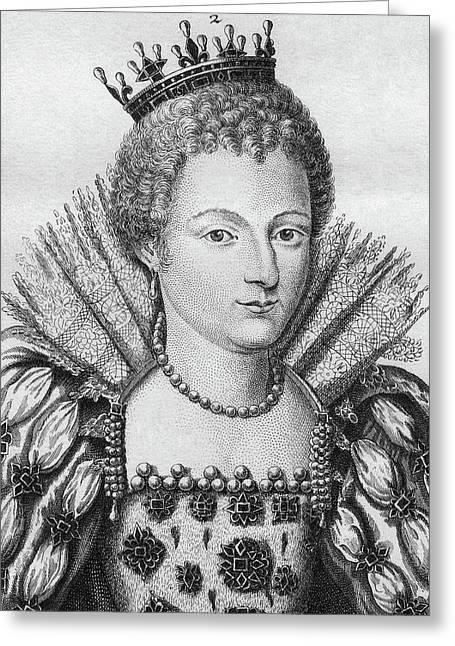 Louise Marguerite (1588-1631) Greeting Card by Granger