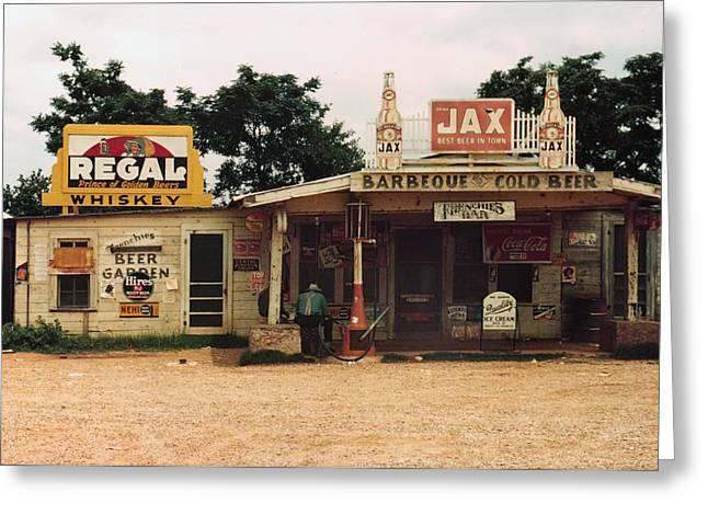 Juke Joint Greeting Cards - Louisiana: Juke Joint, 1940 Greeting Card by Granger