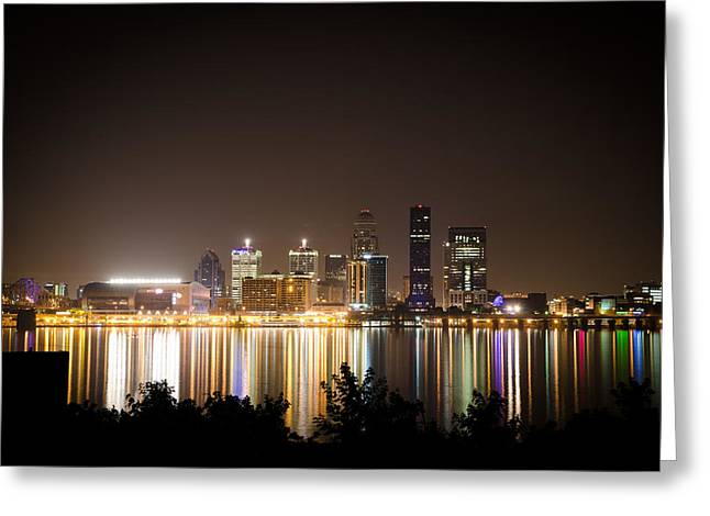 Rainbow Colors Greeting Cards - Louisville Greeting Card by Off The Beaten Path Photography - Andrew Alexander