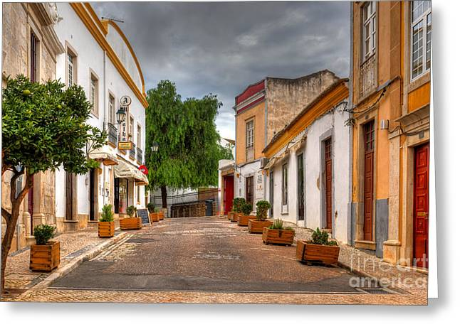Loule Greeting Card by English Landscapes