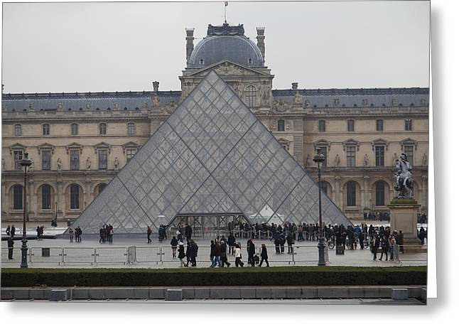 Louvre - Paris France - 011311 Greeting Card by DC Photographer