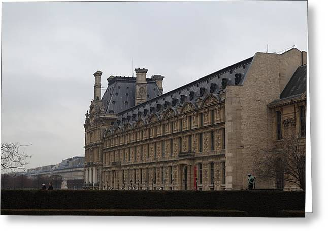 Louvre - Paris France - 011319 Greeting Card by DC Photographer