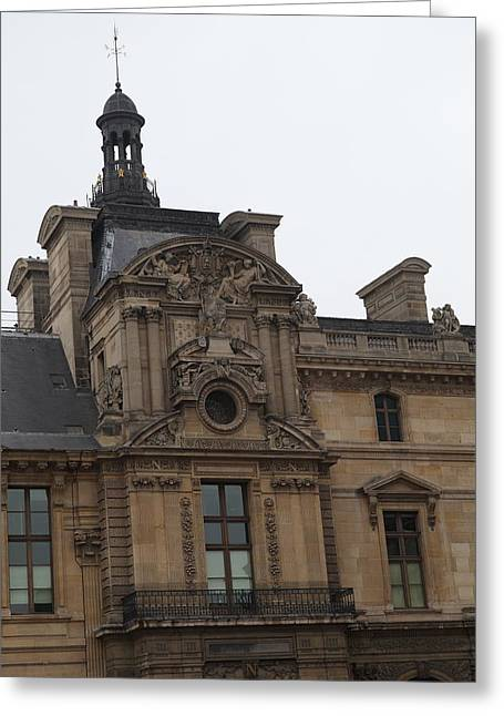 Glasses Greeting Cards - Louvre - Paris France - 011322 Greeting Card by DC Photographer