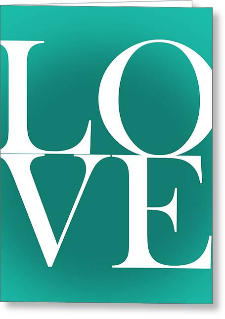 Love 4 Greeting Card by Mark Ashkenazi