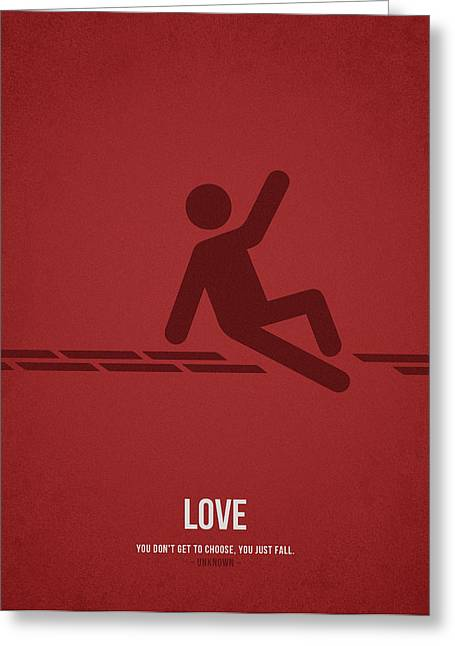 Choose Greeting Cards - Love Greeting Card by Aged Pixel