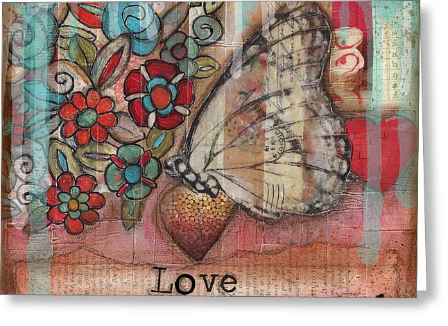 Love Flowers Greeting Cards - Love Always Greeting Card by Shawn Petite