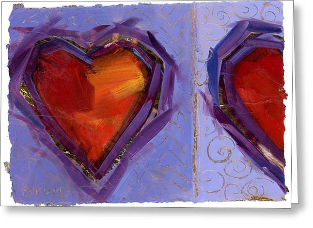 Mary Byrom Greeting Cards - Love And a Half Greeting Card by Mary Byrom