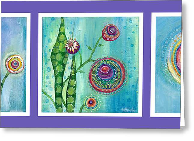 Popular Art Greeting Cards - Love and Hope Greeting Card by Tanielle Childers