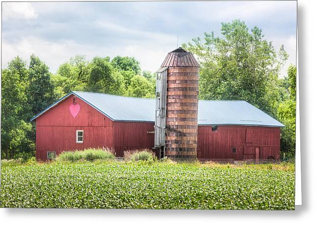 All You Need Is Love Greeting Cards - Love Barn Greeting Card by Gary Heller