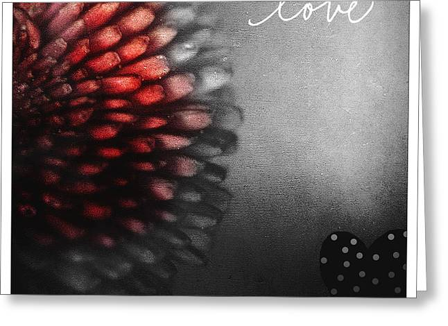 Valentine Gift Ideas Greeting Cards - Love Greeting Card by Bonnie Bruno