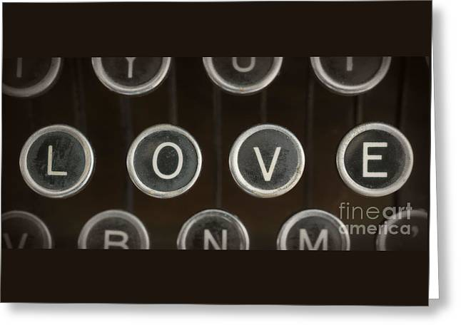 Love Poetry Greeting Cards - Love Greeting Card by Edward Fielding