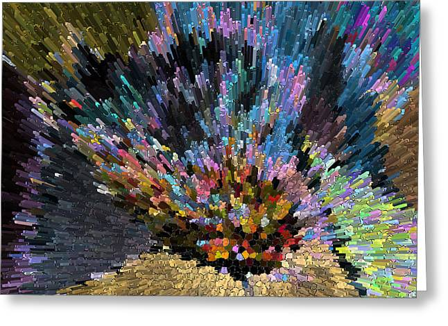 Kenneth James Greeting Cards - love escape to the Universe  Greeting Card by Kenneth James