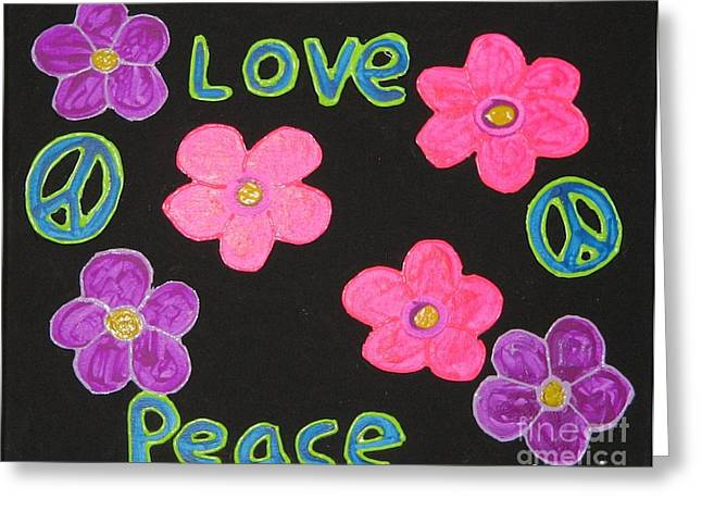 1960 Greeting Cards - Love Greeting Card by Gregory Davis